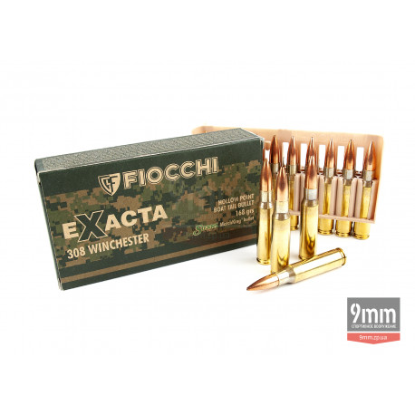 Патрон Fiocchi .308 Winchester Extra HPBT 168gr SMK