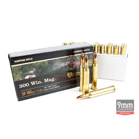 Патрон Fiocchi .300 Winchester Magnum SP 180