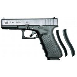 Комплект - пистолет Glock 17 (Gen 4) 9х19 (Luger) и сменный ствол IGB Austria 9x18 (Makarov)