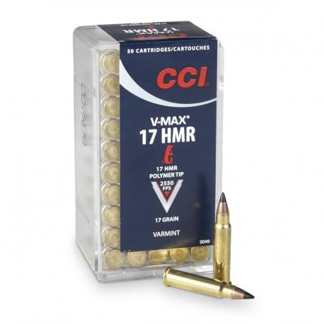 Патрон CCI кал. 17 HMR CCI V-MAX пуля Poly-Tip V-Max