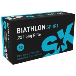 Патрон SK Biathlon Sport кал.22 LR пуля 2,59 г/ 40 гран.