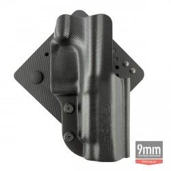 Кобура Ghost для жилета Моллe, з пластика, для  пістолета К100 МК 12, правобічна